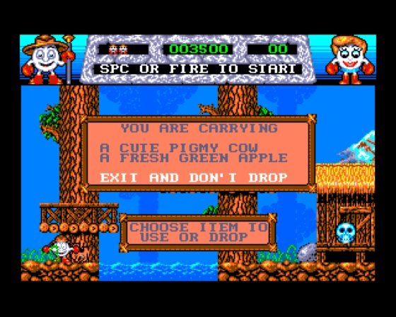 Fantasy World Dizzy Amiga screenshot