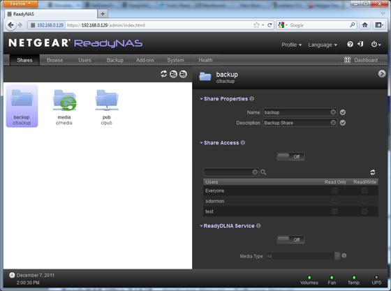 Netgear ReadyNas Duo v2 network storage • The Register
