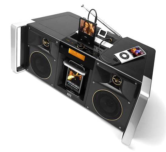 Altec Lansing MIX iMT810 portable speaker dock