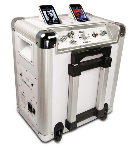 Ion Audio Mobile DJ portable speaker dock