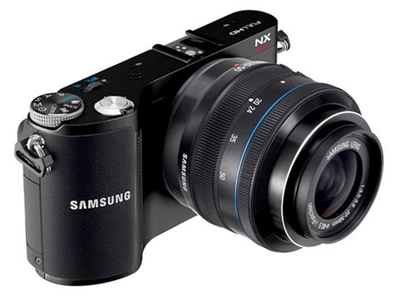 Samsung NX200 compact system camera