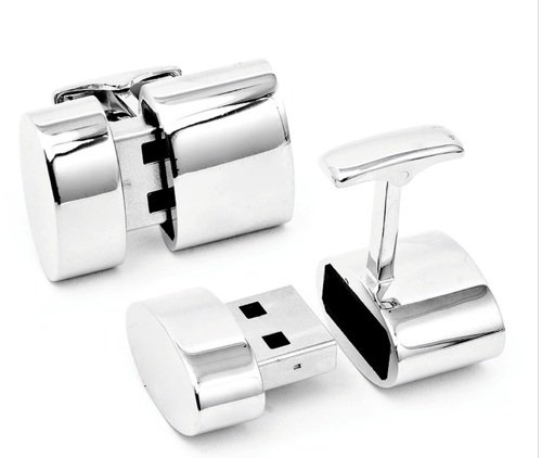 Brookstone WiFI cufflinks