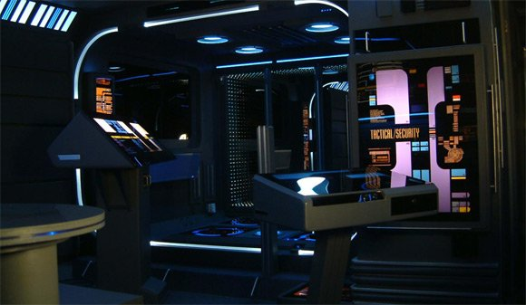 Tony Alleyne's Voyager flat. Pic: 24th Century Design