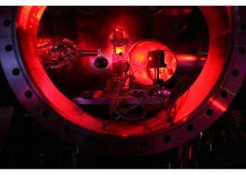 The Linac chamber used to create the hot dense matter
