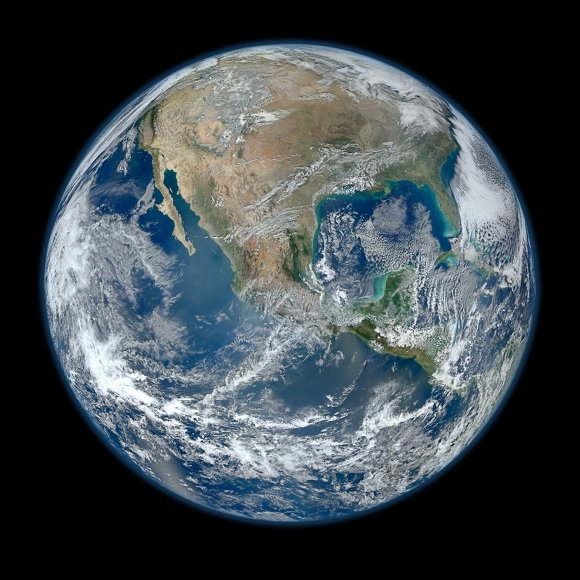 Image of Earth from the Suomi NPP