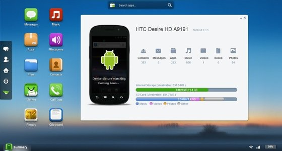 AirDroid Android app screenshot