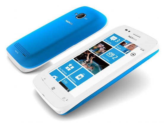 Nokia Lumia 710 Windows Phone 7 smartphone