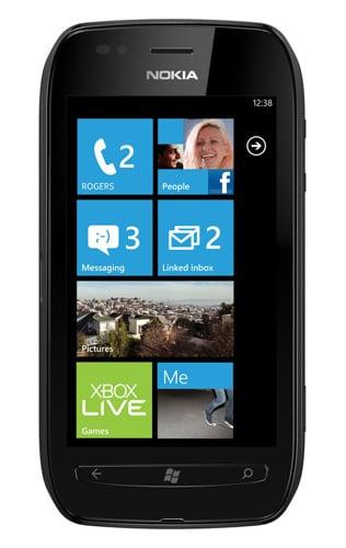 Nokia Lumia 710 Windows Phone 7 smartphone