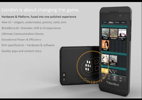 BlackBerry London