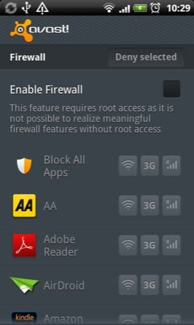 Avast Mobile Security Android app QR code