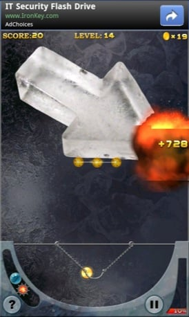 Ice Breaker Android game screenshot