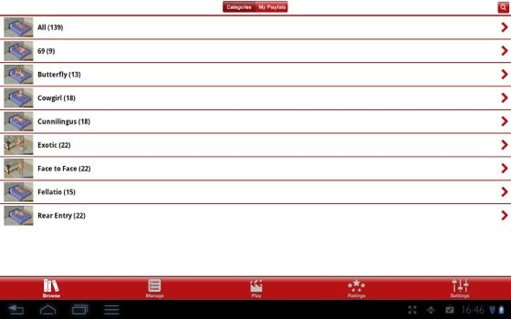 SexInfo 101 Android app screenshot
