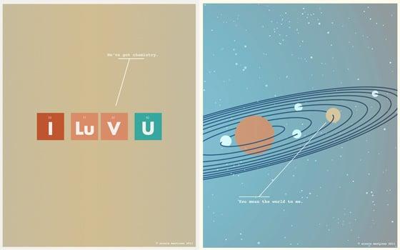 Geek Love Art Prints