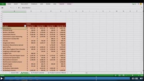 Excel spreadsheet in Office 15