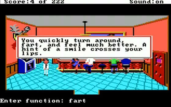 Leisure Suit Larry screenschot