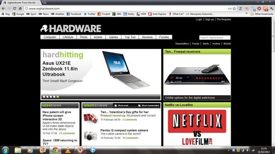 HP Pavilion DM1-4125EA AMD CPU netbook