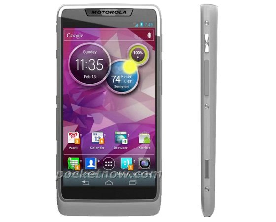 Motorola first Android 4.0 handset with Intel