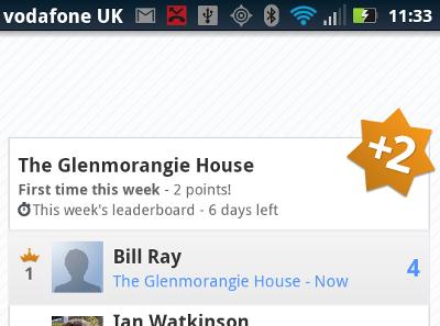 Latitude Leaderboard screen shot
