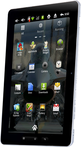 The PAC-PAD1 tablet