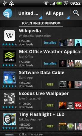 AppAware Android app