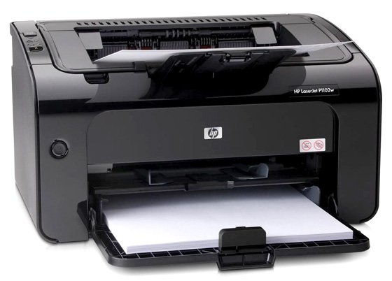 HP LaserJet Pro P1102w mono laser printer