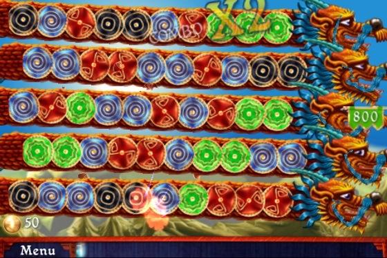 Dragon Portals iOS game screenshot
