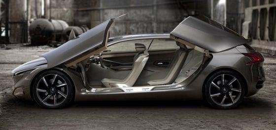 Peugeot HX-1 PHEV concept