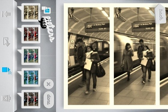 Grid Lens iOS app screenshot