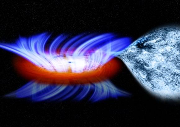 High speed winds from a stellar-mass black hole