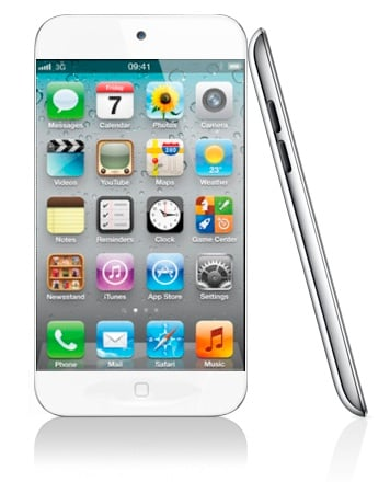 Apple's iPhone 5 (artists impression)