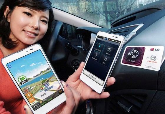 NFC in LG smartphones