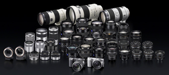 Sony NEX-5N 16.1Mp APS-C compact system camera