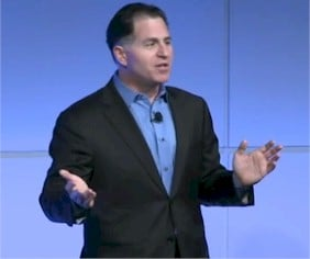 Dell's CEO Michael Dell