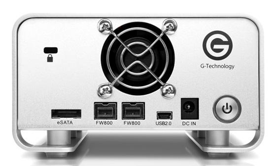 G-Tech G-RAID FireWire 800 external hard drive