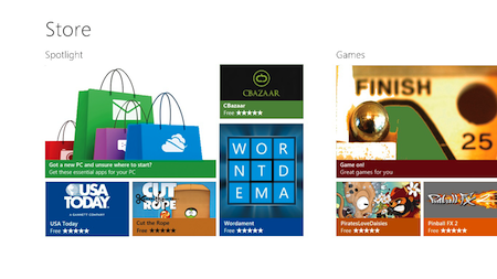 The Windows Store