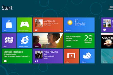 Win8 Metro Screen
