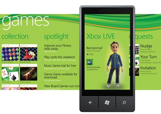 Xbox Live on Windows Phone