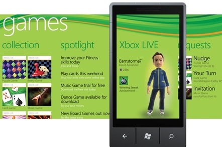 Xbox Live on Windows Phone