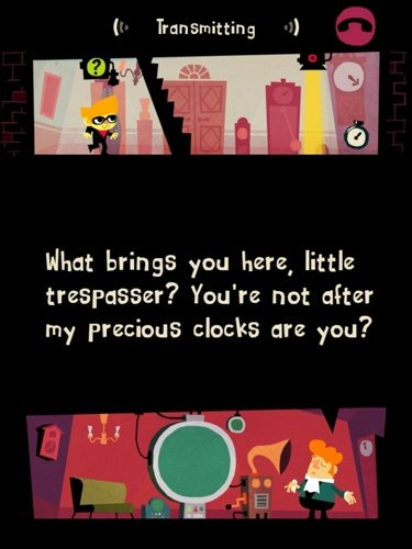 Beat Sneak Bandit iPhone game screenshot