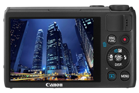 Canon PowerShot S100 compact camera
