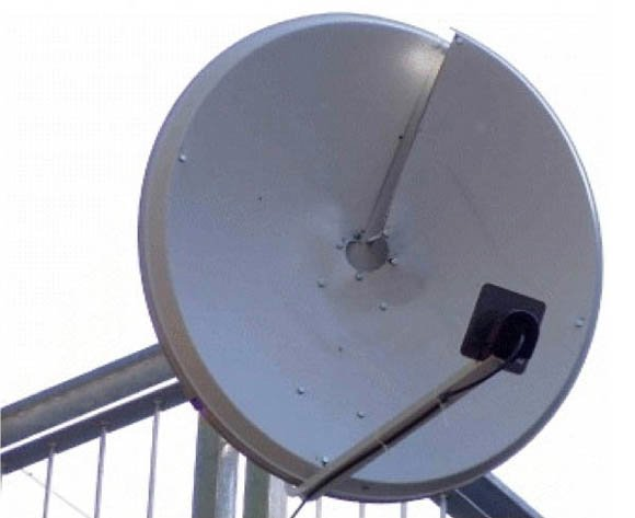 Multiple-signal demonstration antenna