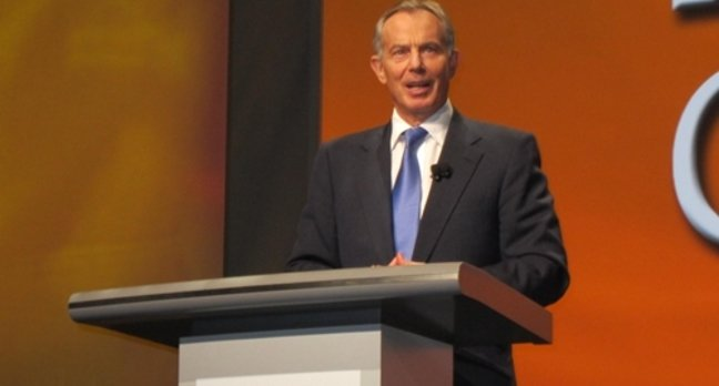 Tony Blair closes the RSA 2012 conference
