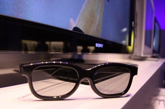 Sony passive 3D specs