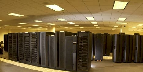 NOAA's Stratus supercomputer