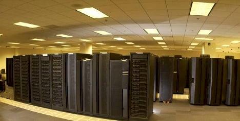 NOAA's Stratus supercomputer