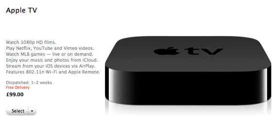 Apple UK Apple TV shipment estimates