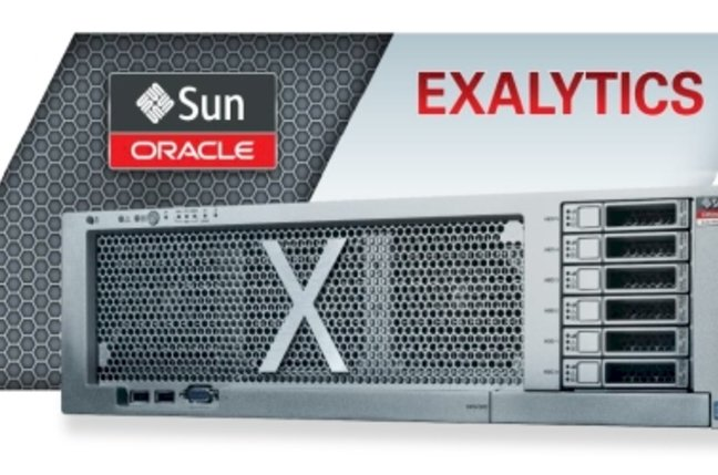 Oracle Exalytics appliance