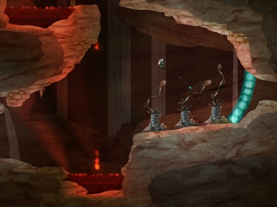 Waking Mars iOS game screenshot