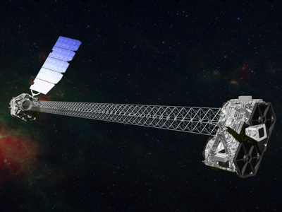 Artist Impression of NuSTAR