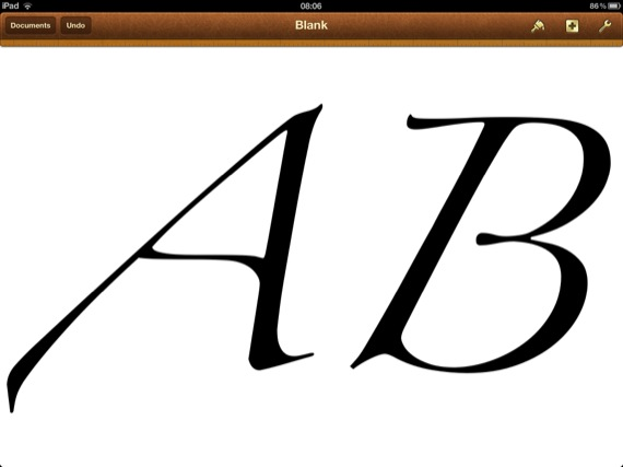 Apple New iPad 3 screenshot